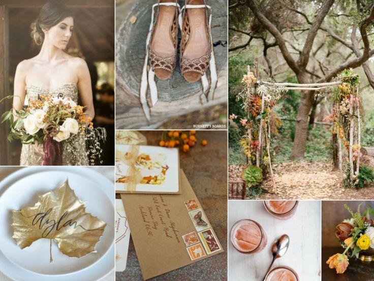 Düğün - Sonbahar Düğün Paleti