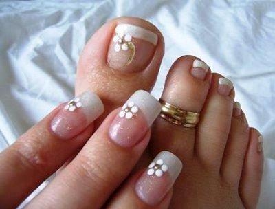 Clavo Wedding Nails Dedos De Manos Y Pies 2064189 Weddbook
