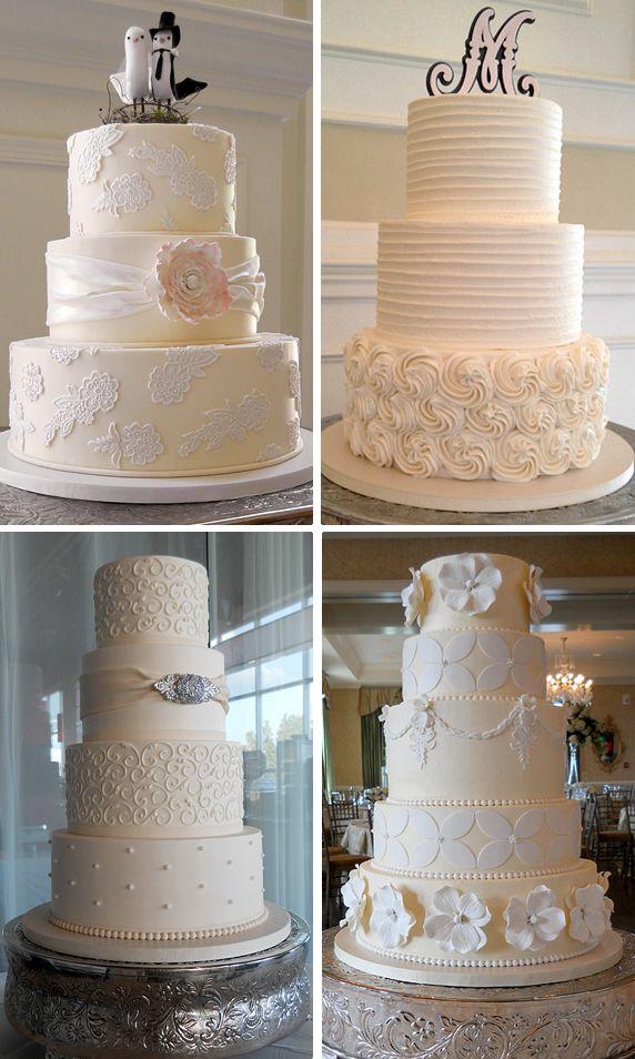 Modern Wedding Modern Wedding Cakes 2064210 Weddbook