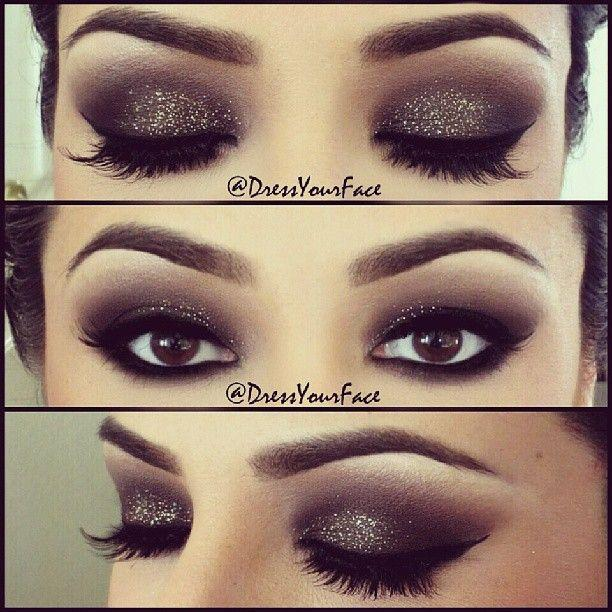 Makeup Glitter Smokey Eyes 2064268 Weddbook
