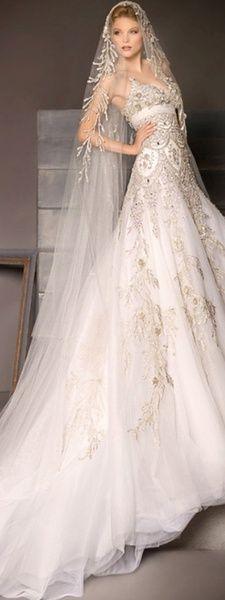 Wedding - Glamorous Wedding Gown