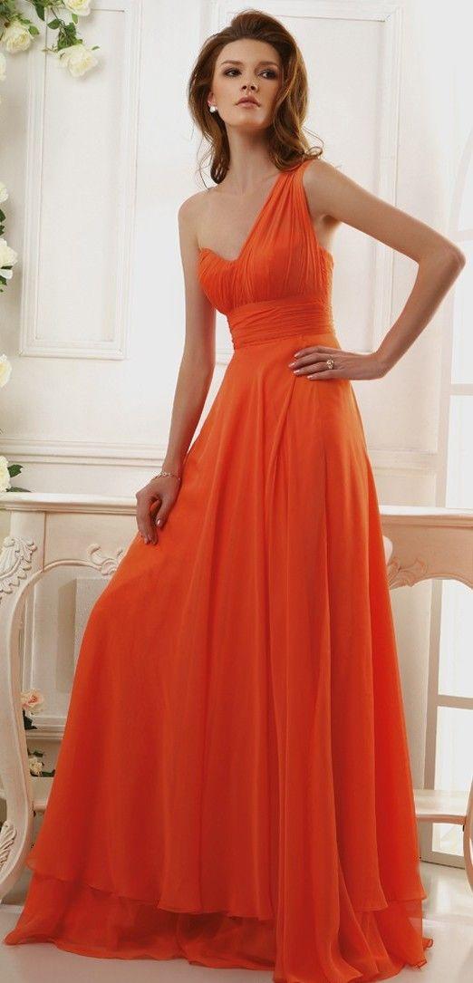 Orange Hochzeits- - Kleider .... Orange Obsessions #2064581 - Weddbook