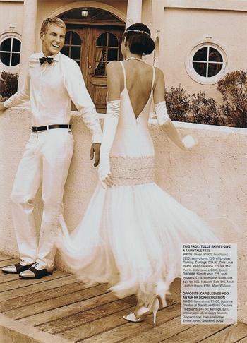Great gatsby wedding 1920s style 2064729 weddbook for 1920 s wedding dresses