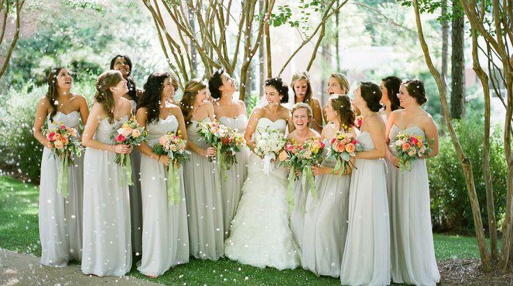 Garden Wedding - Pale Green Dresses #2064832 - Weddbook