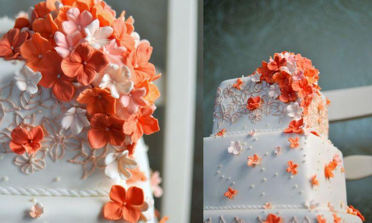 Wedding - Coral And Blue...