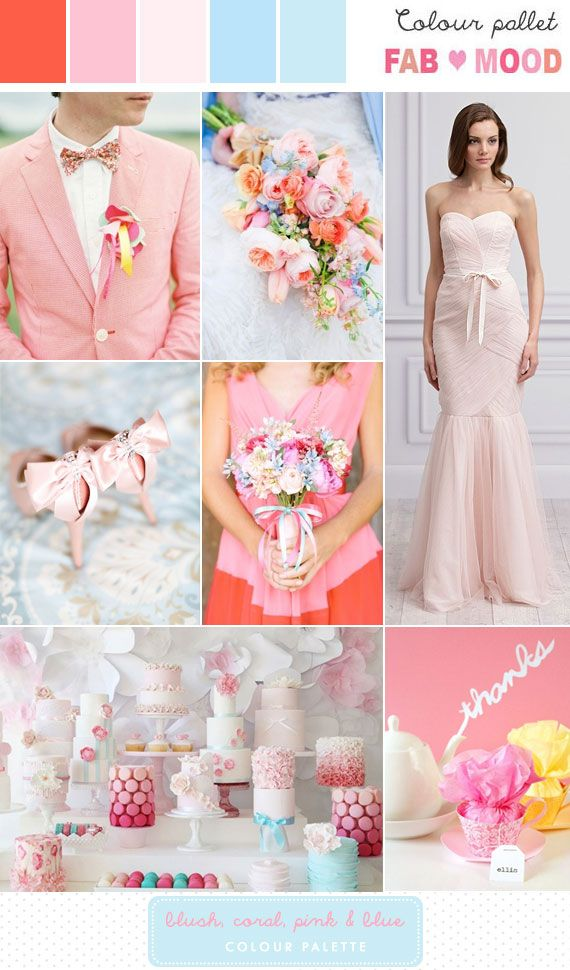 Pastel Wedding Pastel Wedding Inspiration 2065029 Weddbook