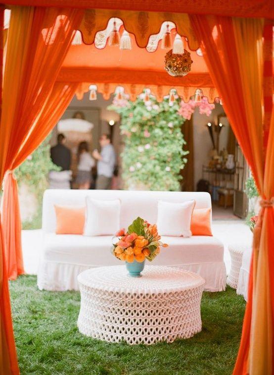 Mariage - Rêve orange