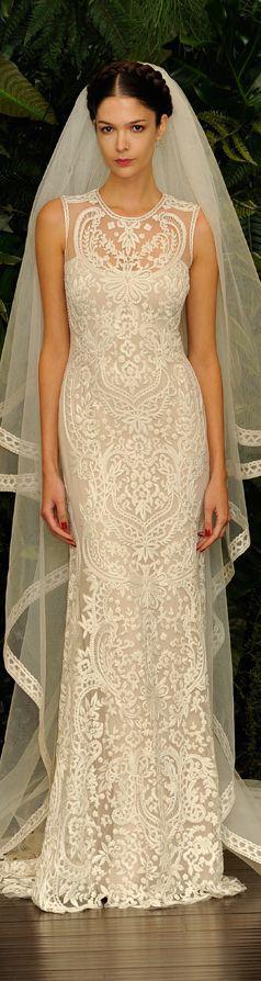 Wedding - Naeem Khan Fall/ Winter 2014 Wedding Dresses