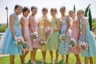 8b339615c2e Pastel Wedding - Vintage Bridesmaid Dresses  2065860 - Weddbook