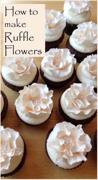 Hochzeit - Machen Rüschen Blumen