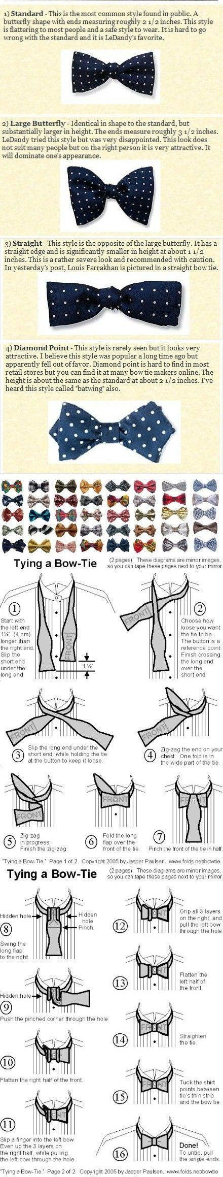 Hochzeit - Bow Ties.
