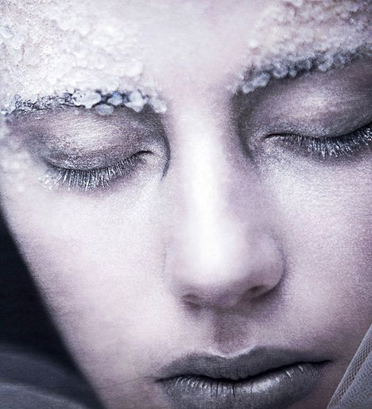 ice princess makeup
