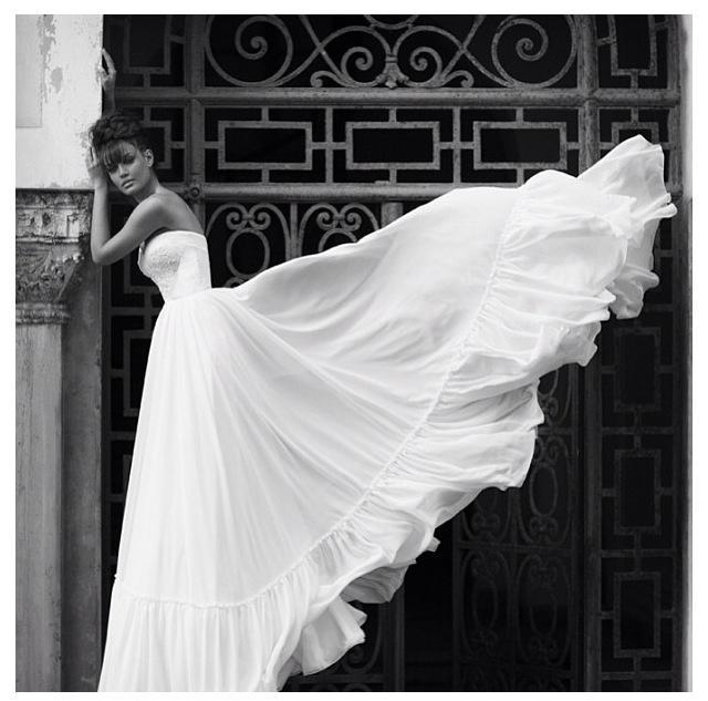 Свадебный Дизайн Ногтей - Берта Свадебное Платье #2066596 - Weddbook