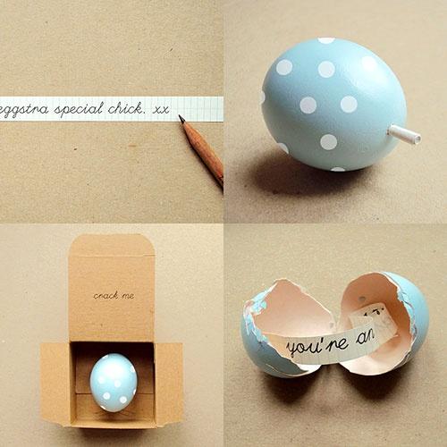 Wedding - Invitation In An Egg