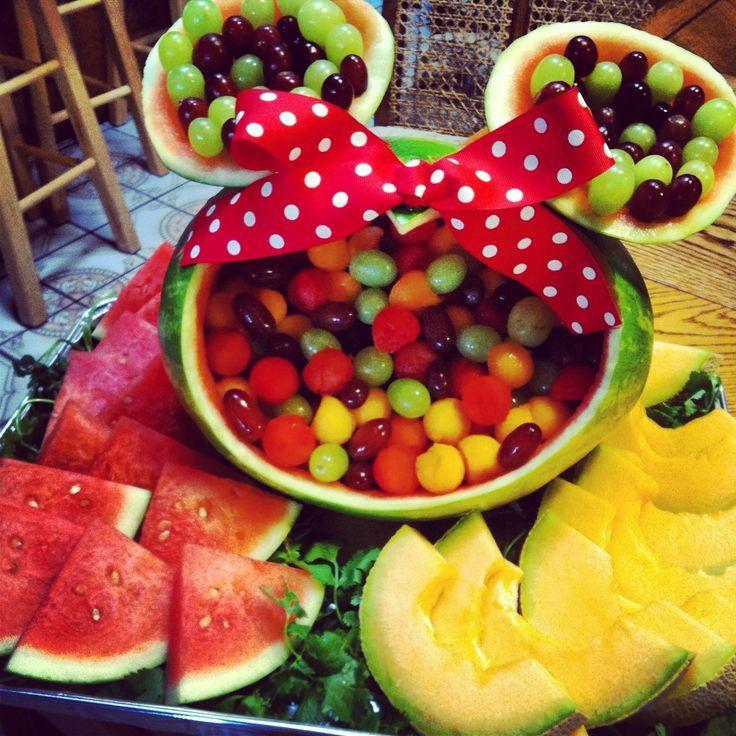 Mariage - Minnie Mouse pastèque ❤