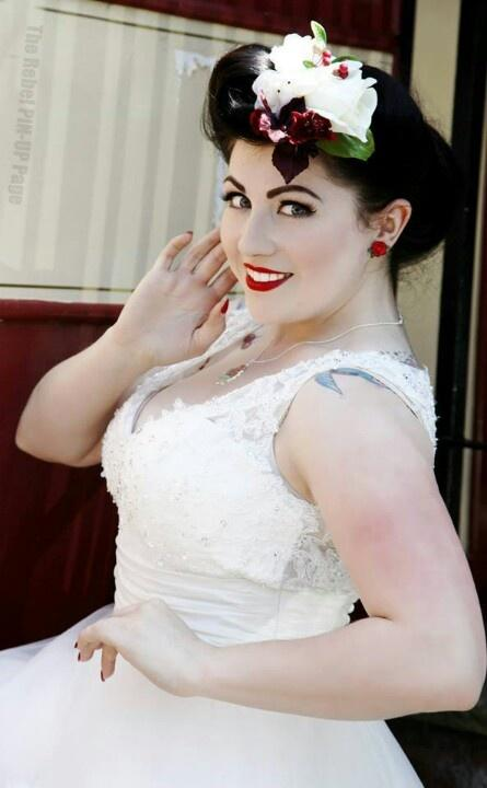 Retro wedding pin up wedding style 2066752 weddbook - Pin up style ...
