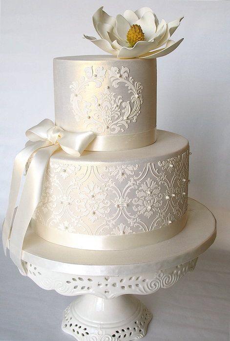 Elfenbein Hochzeit Hochzeitstorte Design 2066812 Weddbook