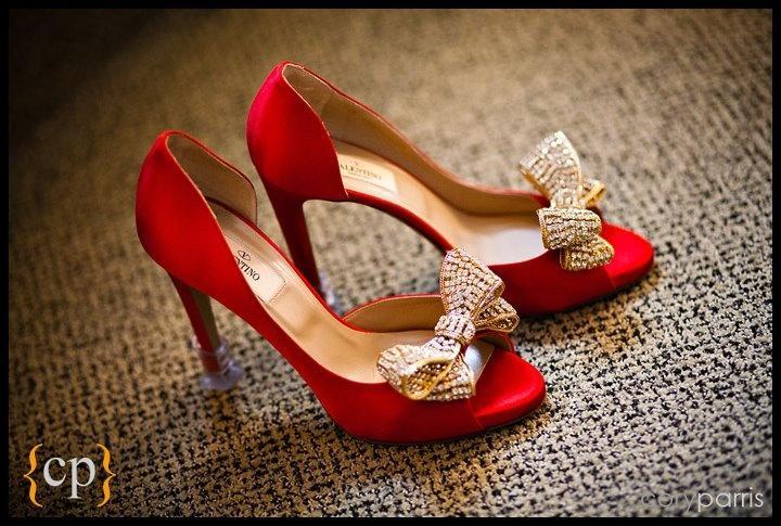 Hochzeit - Sunshine On-Hochzeiten Braut-Schuhe
