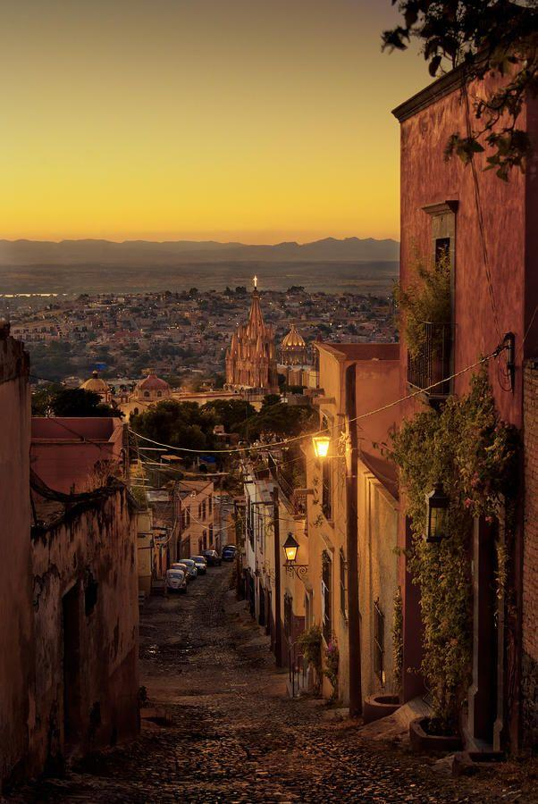 Wedding - San Miguel De Allende, Mexico, At Dusk