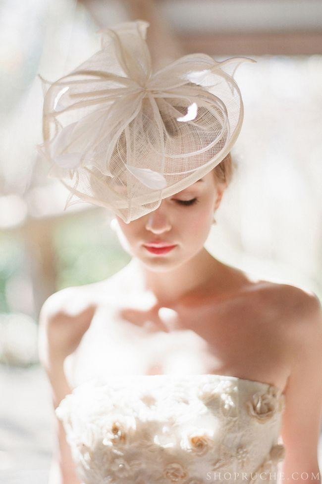 Mariage - Coiffes nuptiale / Ruche Blog