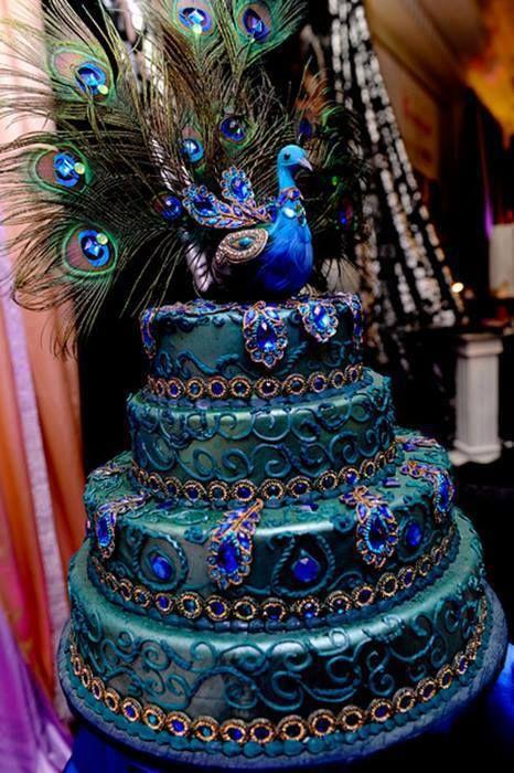 Peacock Wedding Cake.Peacock Wedding Peacock Wedding Cake 2067007 Weddbook