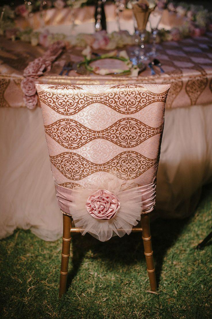 Hochzeit - Hochzeits-Stuhl-Dekor
