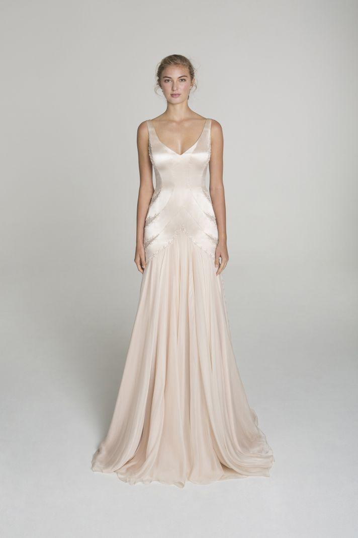 Wedding dresses blush wedding dress from alana aoun 2067095 blush wedding dress from alana aoun junglespirit Choice Image
