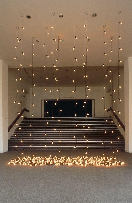 Hochzeit - Lichtinstallation