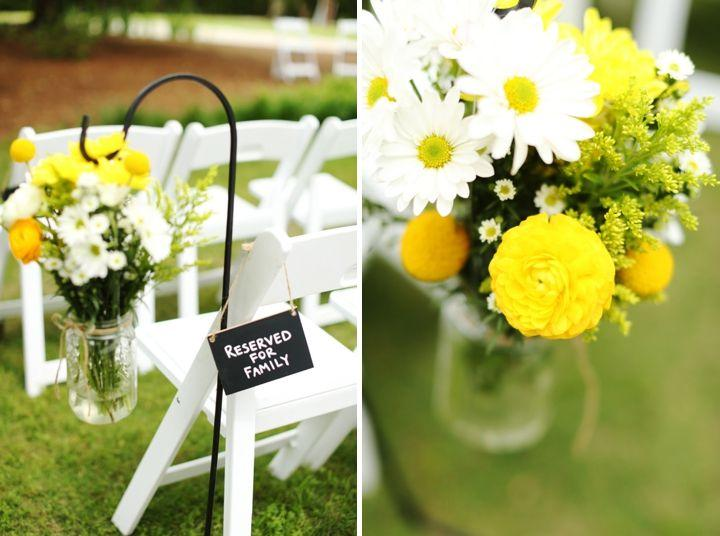 Wedding - Fun And Bright Yellow And Gray Wedding