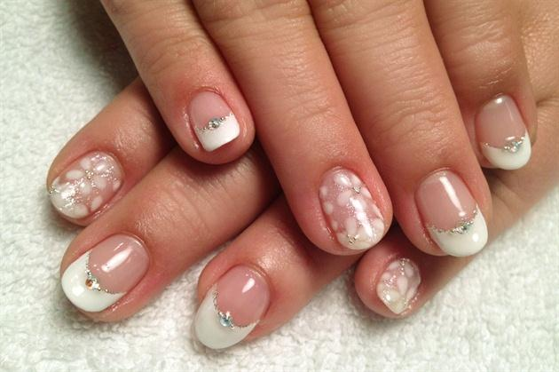 Wedding - Bridal Wedding Nail Art
