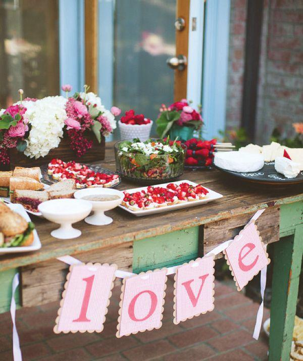 Sweet Summery Berry Themed Bridal Shower 2067246 Weddbook