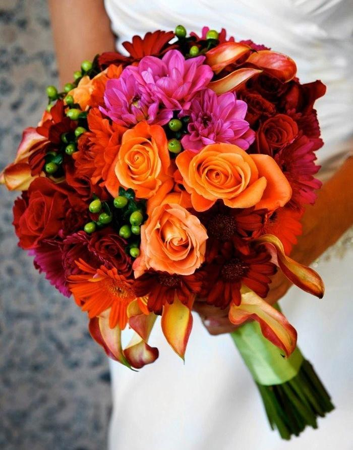 Bright Fall Bridal Bouquets Bridal Bouquets Bright And