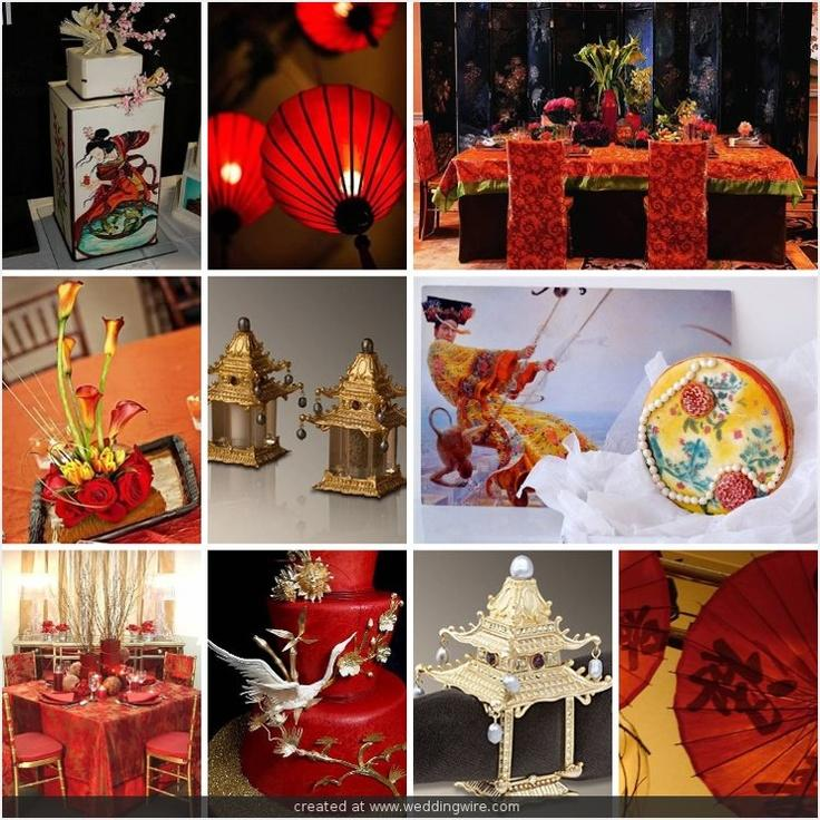 Oriental wedding asian themed decor accents 2067673 for Asian party decoration