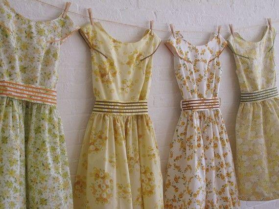 Vintage Inspirierte Tea Kleider Fur Ihre Hochzeit Zu Jenifer