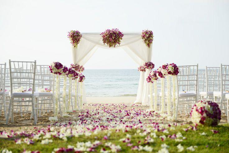Gorgeous Wedding Ceremonies: Beautiful Outdoor Wedding Ceremony