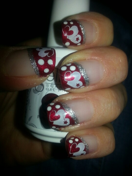 Nail - Gel Valentines Nails #2067927 - Weddbook