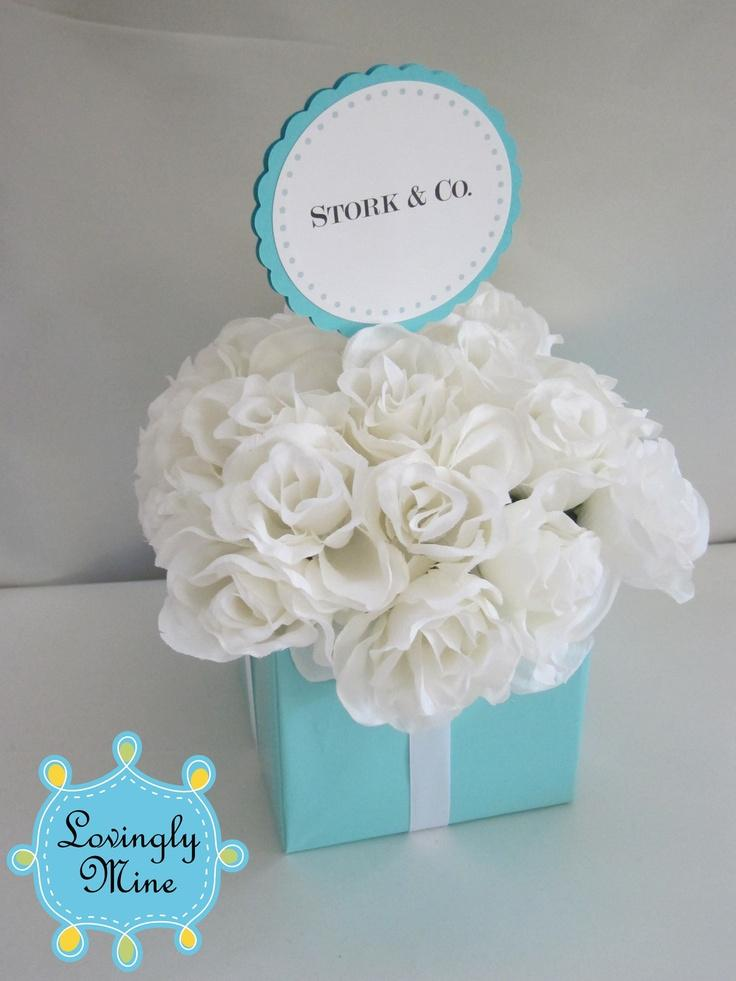 Tiffany co inspired centerpiece small three tier