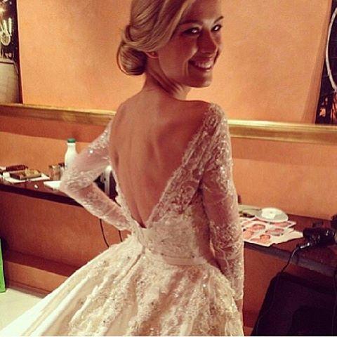 Stunning Backless Dress