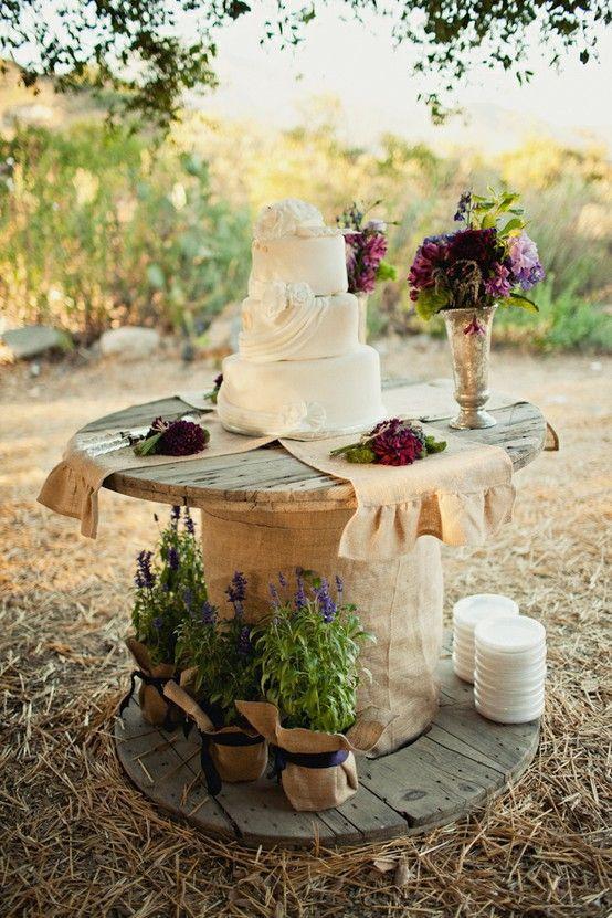 Свадьба - Очаровательны Страны Западной Свадебный Торт