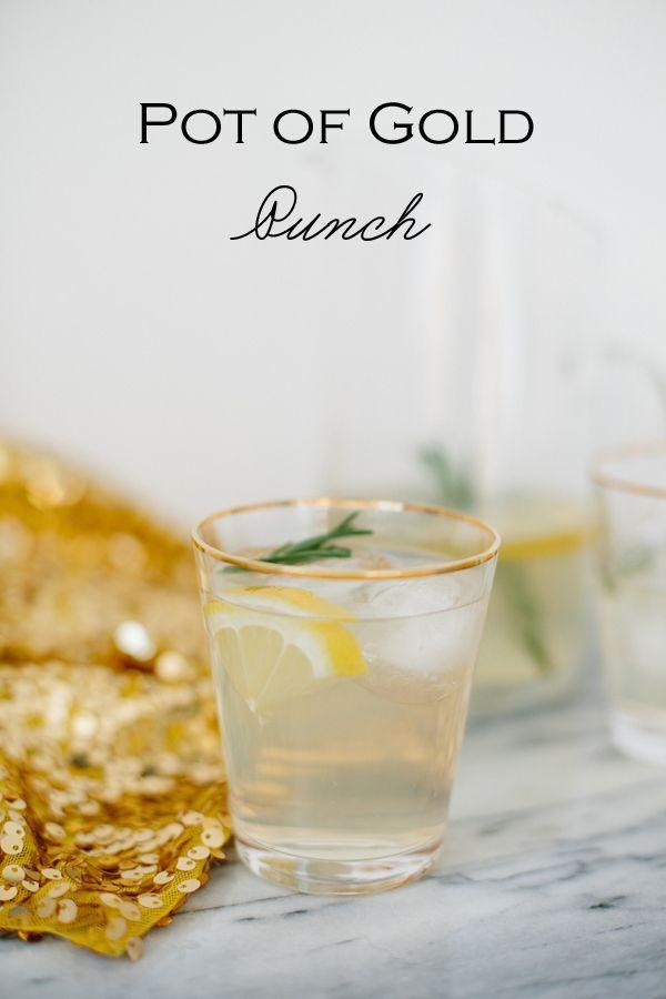 Wedding - Recipe File: Pot Of Gold Punch