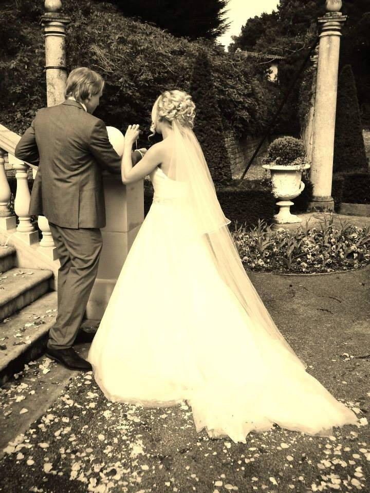 Mariage - La mariée et le marié.