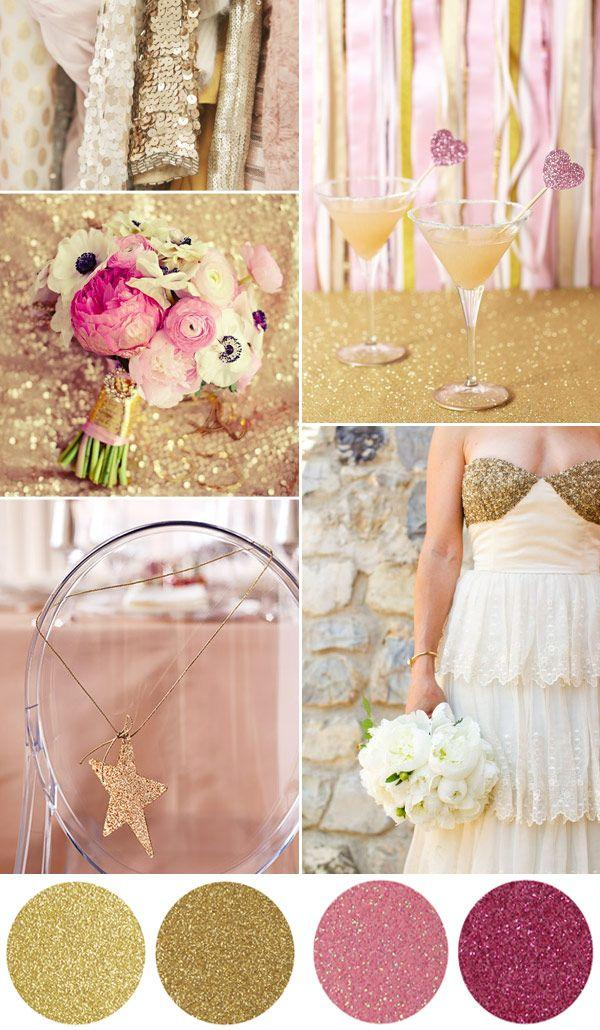 Wedding - Sparkle And Shine With Our Glitter Wedding Ideas