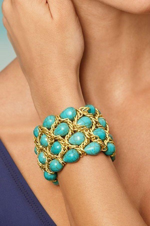 Mariage - 37 bijoux de turquoise tendance