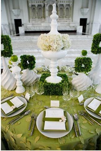 Hochzeit - Tables Ideen & Dekorationen,