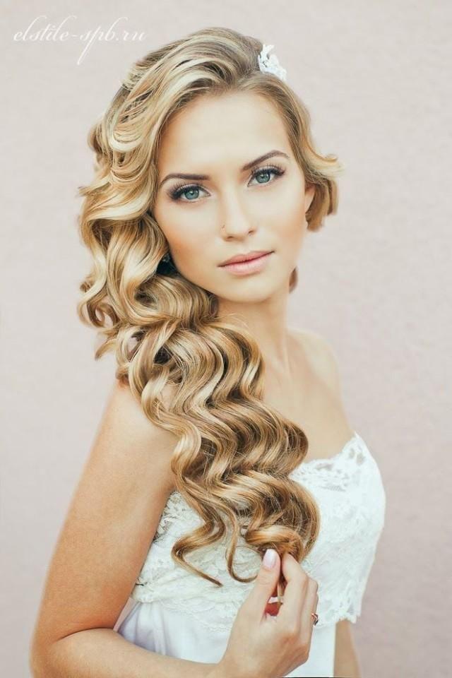 Hairstyles For Naturally Wavy Hair : Wedding ideas wavy #2 weddbook
