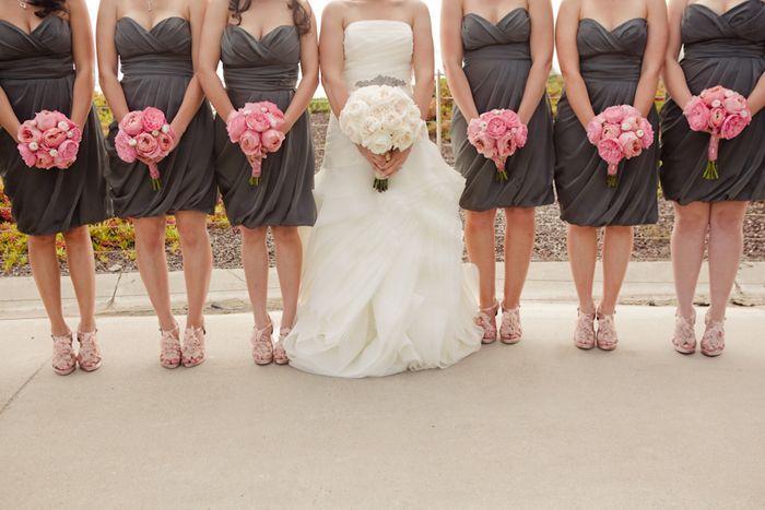 Pink Wedding Soft Pink Grau Hochzeit In Kalifornien 2068799