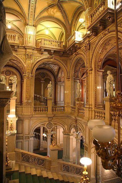 Wedding - The State Opera House In Vienna, Austria