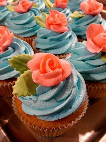 Свадьба - Синий, поэтому синий цвет.... (с помощью сахара (Обалдело)