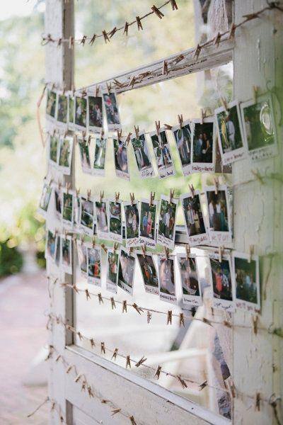 Guestbook - Polaroid Guest Book Display #2068831 - Weddbook