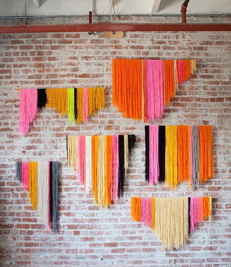 Diy Yarn Hanging Backdrop